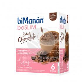 Batido Proteinas Chocolate sobres Bimanan Pro