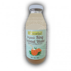 Agua de coco king 100% biológico ekotrebol