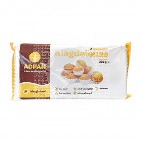 Magdalenas sin gluten Adpan