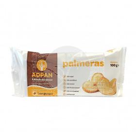 Palmeras sin gluten sin huevo y sinLeche Adpan
