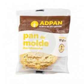 Pan de molde 2 rebanadas Adpan