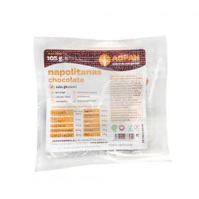Napolitanas de chocolate sin gluten Adpan