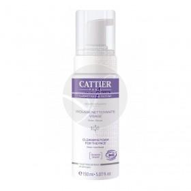 Espuma Limpiadora Facial sin Jabón Bio 150 ml Cattier