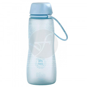Botella bbo tritán azul 550ml Irisana