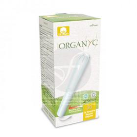 Tampon Regular con aplicador Organyc