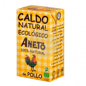 Caldo Natural De Pollo Eco Aneto