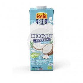 Bebida vegetal de coco con calcio sin azucar Bio 1 lt Isola Bio