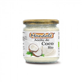 Aceite de coco bio 250gr Mandole