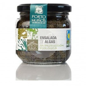 Ensalada De Algas En Aceite De Oliva Eco 160 gr Porto Muiños
