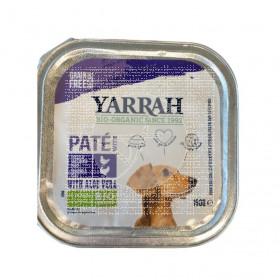 tarrina Comida De Perros De Pavo y Aloe Vera Bio sin gluten Yarrah