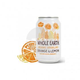Refresco Bio De Naranja y Limón 330ml Whole Earth