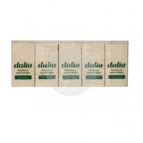 Pañuelos de bolsillo Eco Sin Blanquear 10 paquetes Dalia