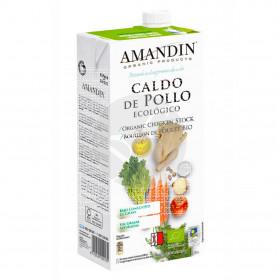 CALDO DE POLLO ECO AMANDIN