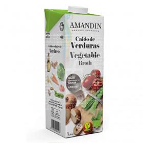 Caldo Verduras Natural Eco 1L Amandin