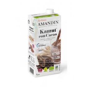 Bebida Vegetal De Kamut con Cacao Eco Vegan Amandin