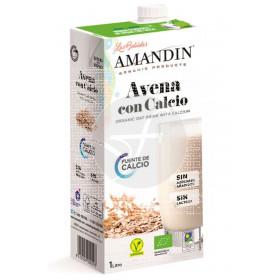 LECHE DE AVENA CON  CALCIO ECO 1L AMANDIN
