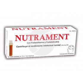 Nutrament 20 viales Glower