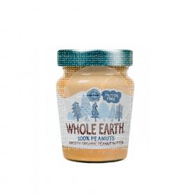 Crema de cacahuetes Smooth Bio 227gr Whole Earth