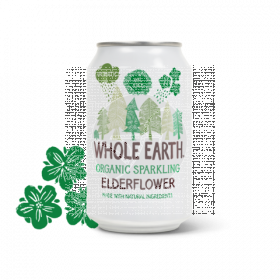 Refresco Bio de sauco Whole Earth
