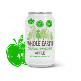 Refresco Bio de manzana Whole Earth