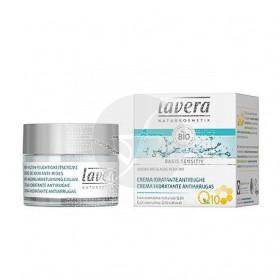 Crema hidratante antiarrugas con Q10 Lavera
