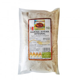 Harina Avena integral Bio sin gluten Bioprasad