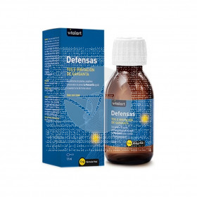 Defensas Tos E Irritación De Garganta 125ml Vitalart