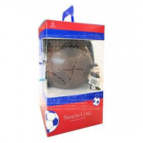 Pascua balón Messi de chocolate con leche 300gr Simon Coll Monas