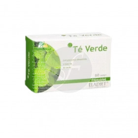 Té Verde 60 Comprimidos Eladiet