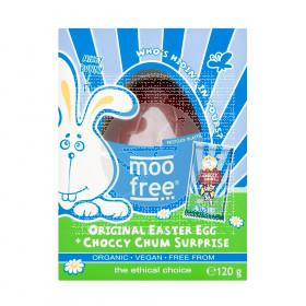 Huevo de pascua Vegano Bio 120gr Moo Free