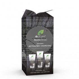 Set limpiador facial Carbón Activo Dr. Organic