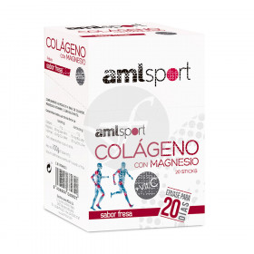 Colageno con Magnesio, Vitaminac Stick Amlsport