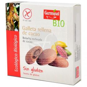 Galletas rellenas de Cacao S/G Bio Germinal