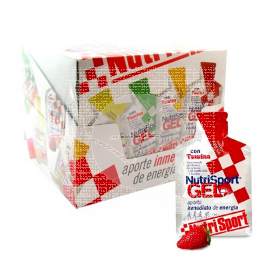 Gel con Taurina sabor Fresa 24uds NutriSport