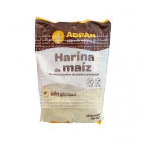 Harina De Maiz De Molino De Piedra sin gluten 1Kg Adpan