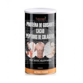 Proteina De Guisante con Cacao y Peptidos De Colageno Salengei