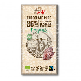 Chocolate Negro 86% Eco Chocolates Solé