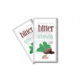 Chocolatinas Bitter con Stevia 72% Cacao Chocolates Sole