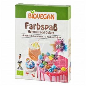 Colorante Alimenticio En polvo Vegano 5 colores Biovegan