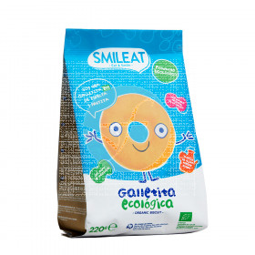 GALLETAS INFANTILES ECO DE ESPELTA CON MANZANA SMILEAT