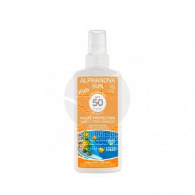 Crema Solar Niños Spf50 Spray 125g  Alphanova