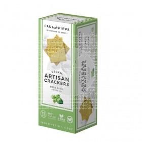 Traditional Crackers con Albahaca Vegan Paul & Pippa