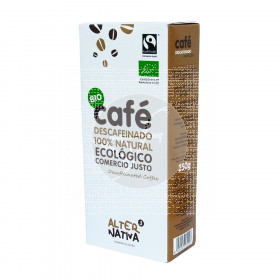 Cafe Molido Descafeinado Bio Comercio Justo Alternativa3