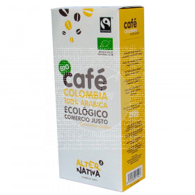 CAFE MOLIDO COLOMBIA ARABICA BIO COMERCIO JUSTO ALTERNATIVA3