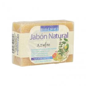 Jabón Natural de Azufre 100gr Bifemme Ynsadiet