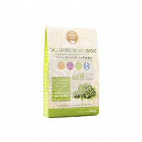 Tallarines De Espinacas The Konjac Shop
