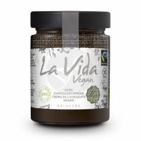 Crema De Chocolate Negro Bio Vegano sin gluten La Vida Vegan
