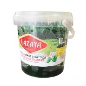 Cereza verde confitada 1Kg Lazaya