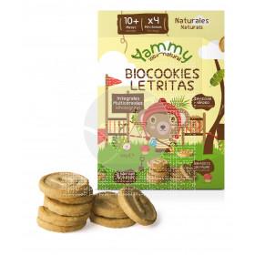 Biocookies Mini Letras Bio sin Aceite De Palma Yammy