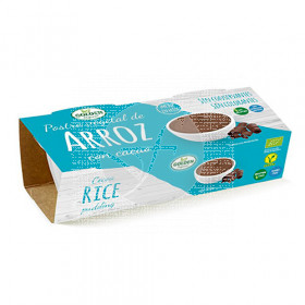 POSTRE DE ARROZ CON CACAO ECO GOLDEN FOODS